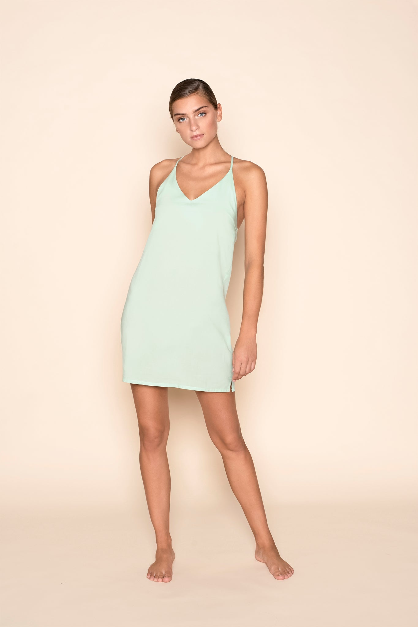 Slip dress - Mint Mojo