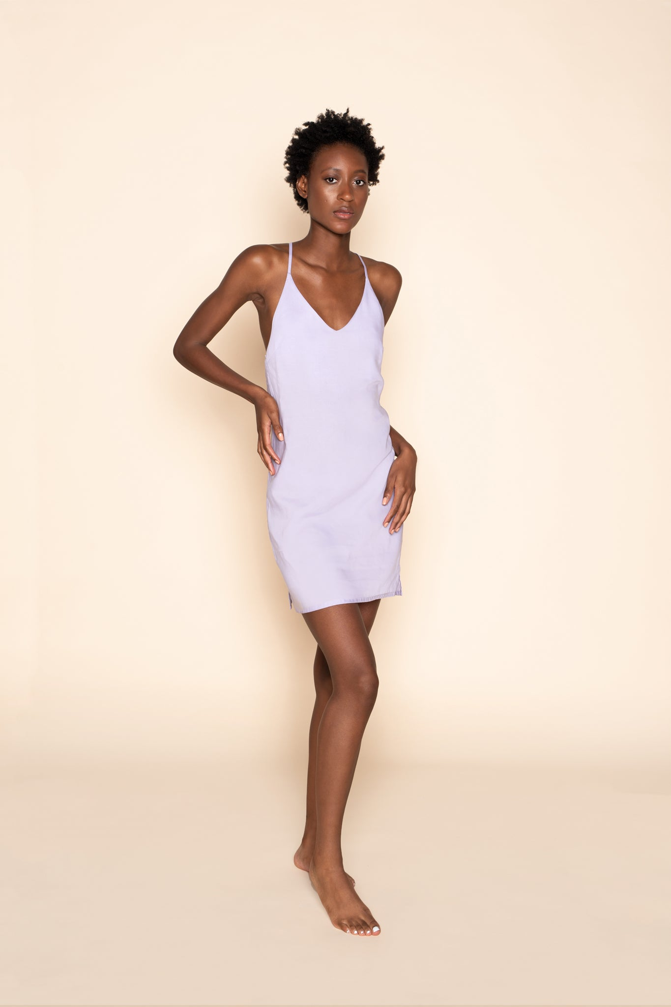 Slip dress - Lavender Love