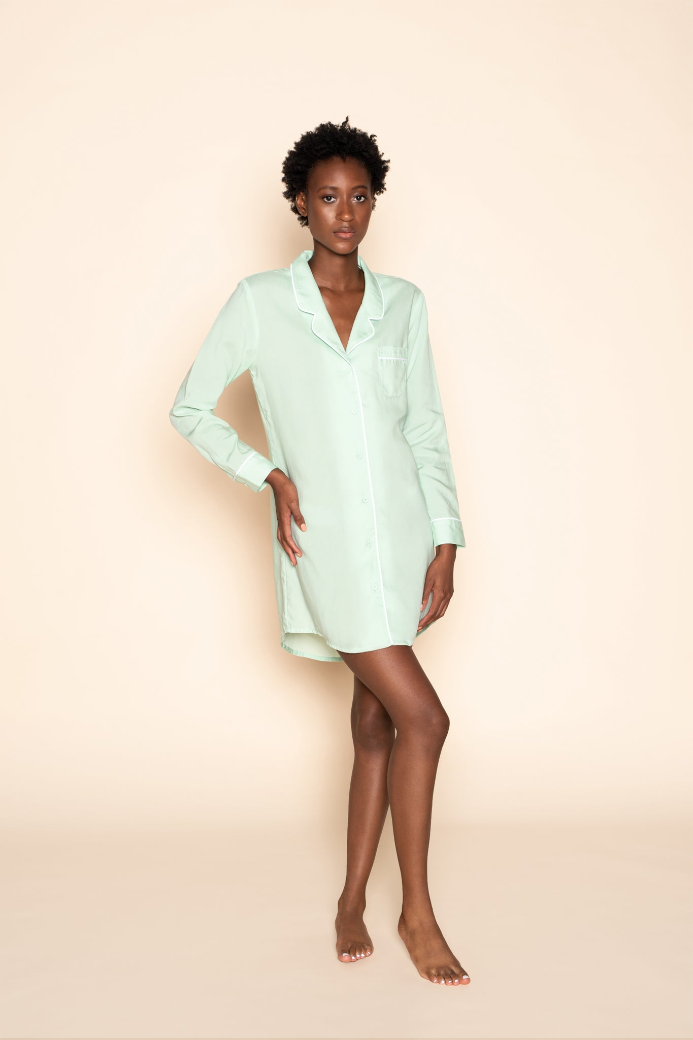 Dress blouse - Mint Mojo