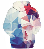 Abstract Geometric Hoodie