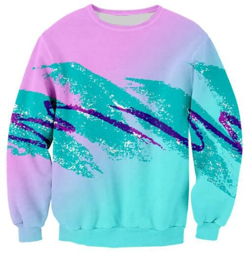 90s Jazz Pink Sweater