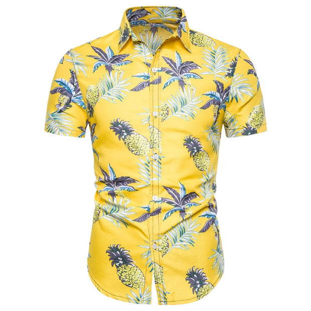 Yellow Classic Hawaiian Shirt