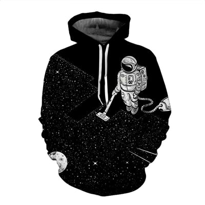 Men in Space Hoodie