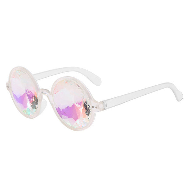 Holographic Kaleidoscope Sunglasses