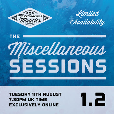 Miscellaneous Sessions Online Lecture Tuesday 11th August 2020