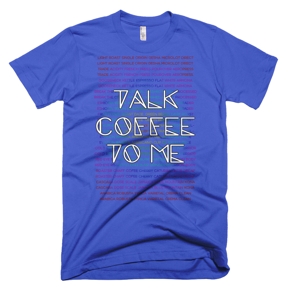 Talk coffee to me