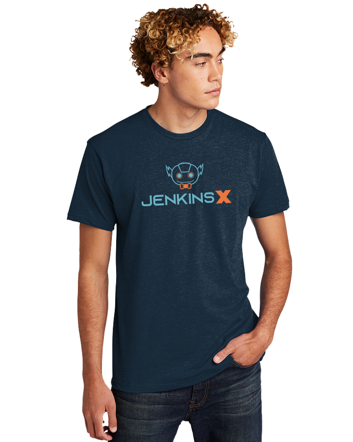 Straight Fit JenkinsX Tee