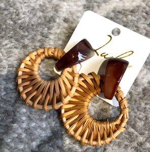 Ratna Woven Earrings