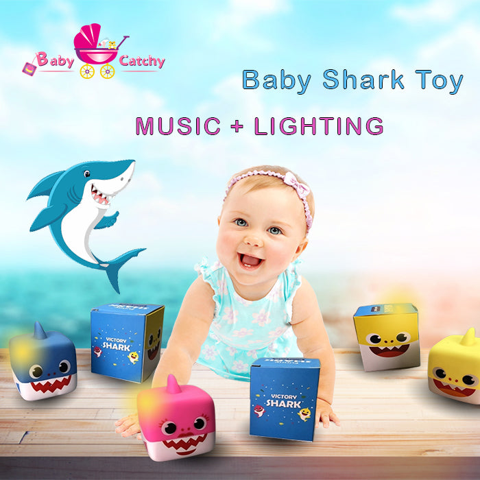 Baby shark song bath toys - babycatchy