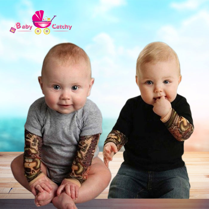 Infant clothes Long Sleeve Cotton Tattoo - babycatchy