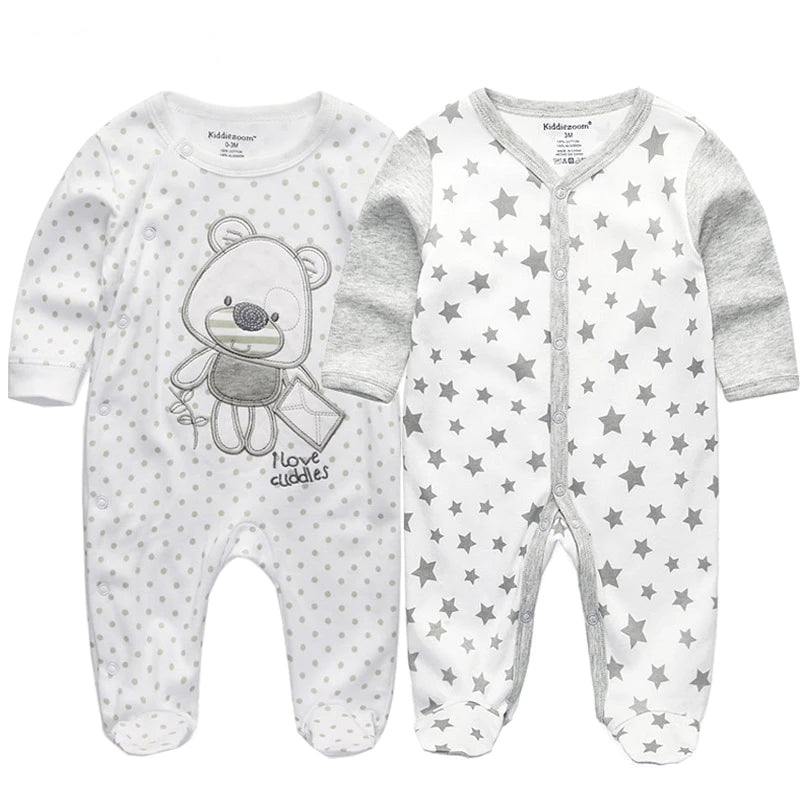 Baby clothes full sleeve rompers - babycatchy