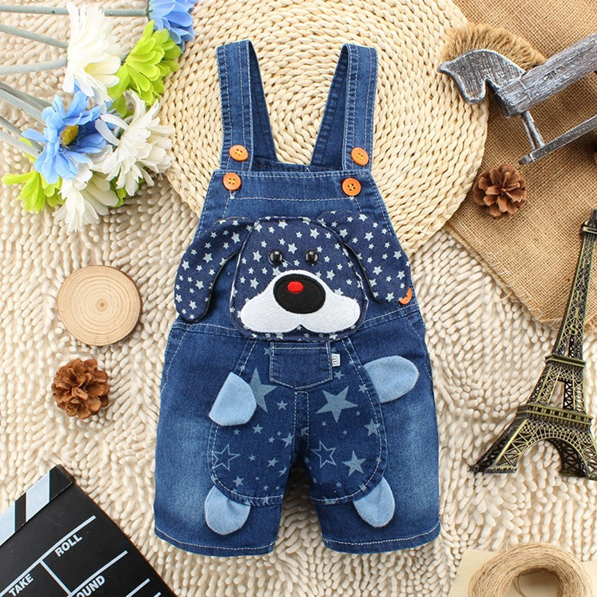 Baby Clothing Boys Girls Jeans Overalls Shorts - babycatchy