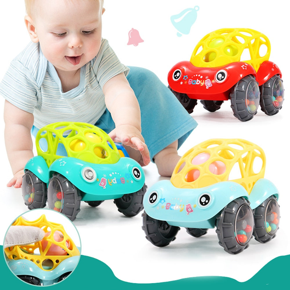 baby Car toys Shaking Bell Rattles - babycatchy