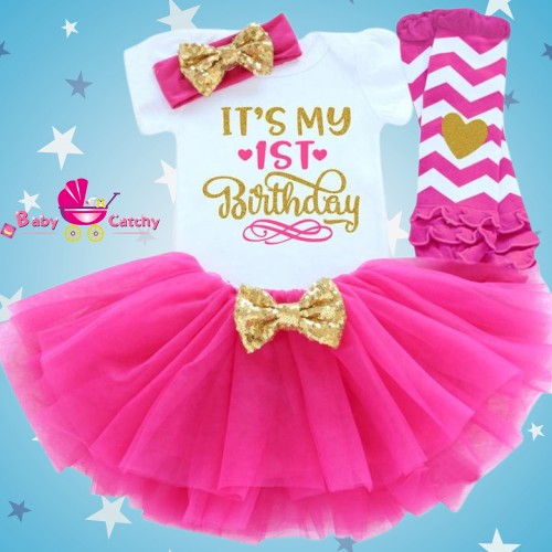 Baby Girls  Dress for Birthday Party - babycatchy
