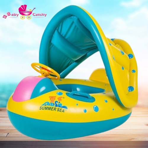 Baby Kids Inflatable Swimming Ring - babycatchy