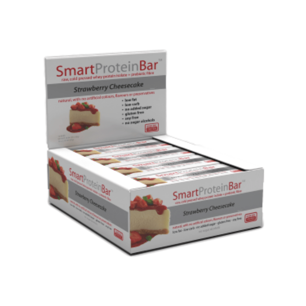 Smart Protein Bar Strawberry Cheesecake Box by Smart Diet Solutions