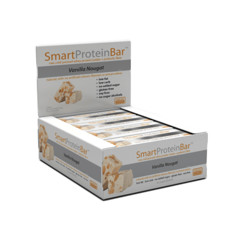 Smart Protein Bar Vanilla Nougat Box by Smart Diet Solutions