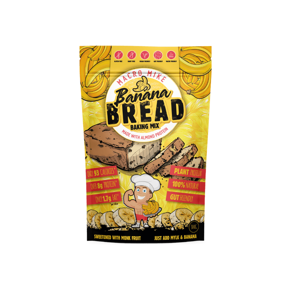 Banana Bread Baking Mix by Macro Mike