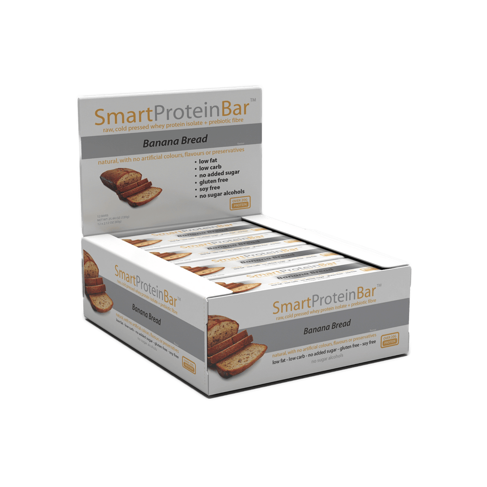 Smart Protein Bar Banana Bread Box by Smart Diet Solutions