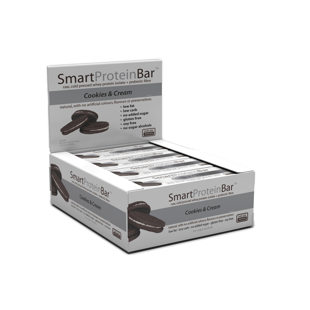 Smart Protein Bar Cookies & Creme Box by Smart Diet Solutions