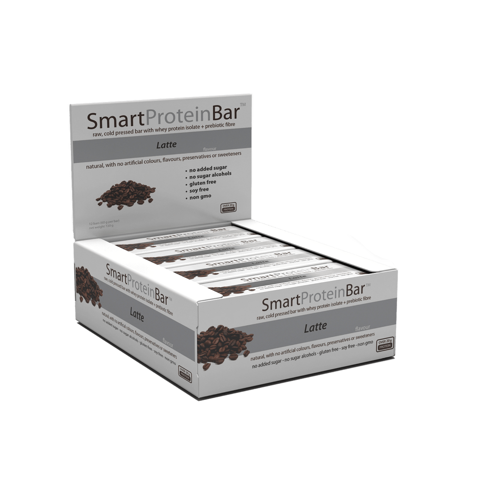 Smart Protein Bar Latte Box by Smart Diet Solutions
