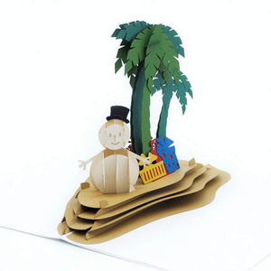 Paper Love-Magical Island Pop Up card-3d-lovepop-popup-cards