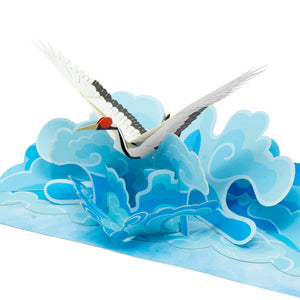 Paper Love-Japanese Crane Pop Up Card-3d-lovepop-popup-cards