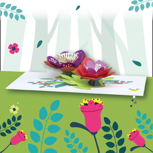 Paper Love-Lotus Flower Pop Up Card-3d-lovepop-popup-cards