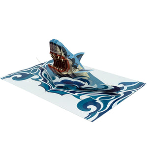 Paper Love-Shark Pop Up Card-3d-lovepop-popup-cards