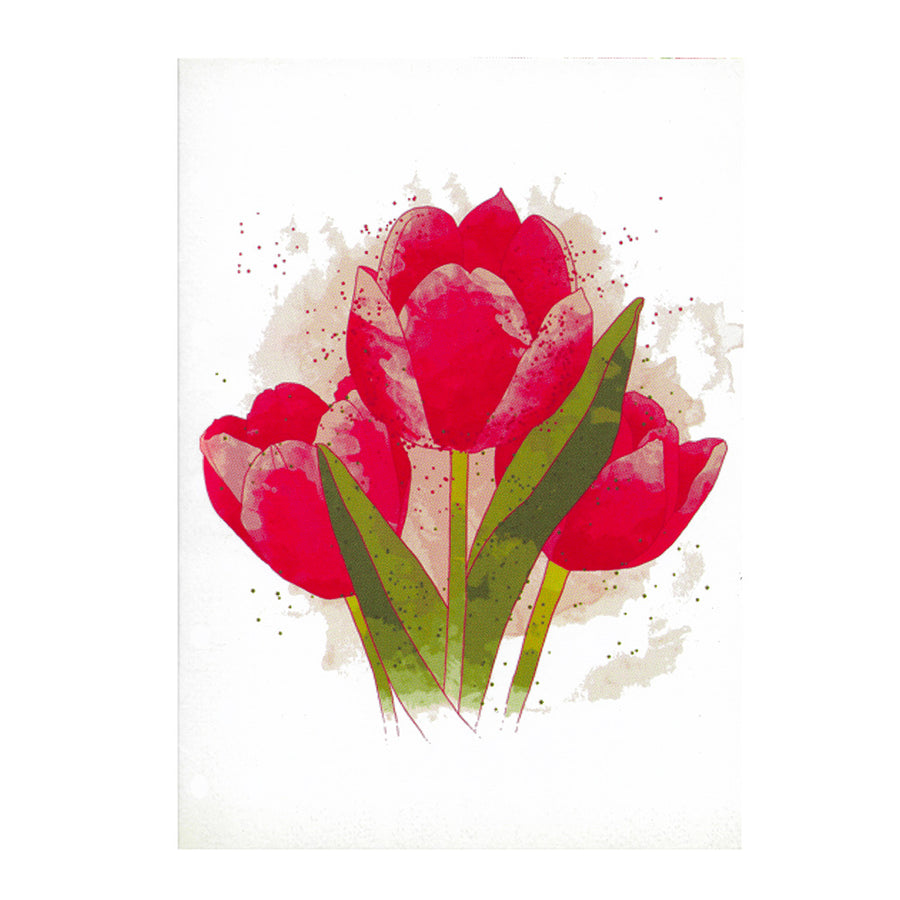 Paper Love Tulip Bouquet pop up card- lovepop