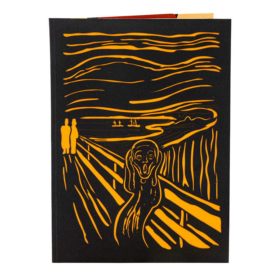 The Scream (by Edvard Munch) Halloween Pop Up Card