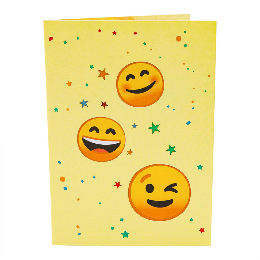 Emoji Pop Up Card