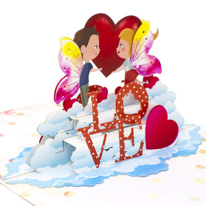 Paper Love-Fairy Love Pop Up Card-3d-lovepop-popup-cards