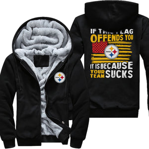 WL1084 Pittsburgh Fleece Thick Hoodie