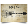 190625900  The Dance Garth Brooks Wedding Song and Wedding Gift music poster