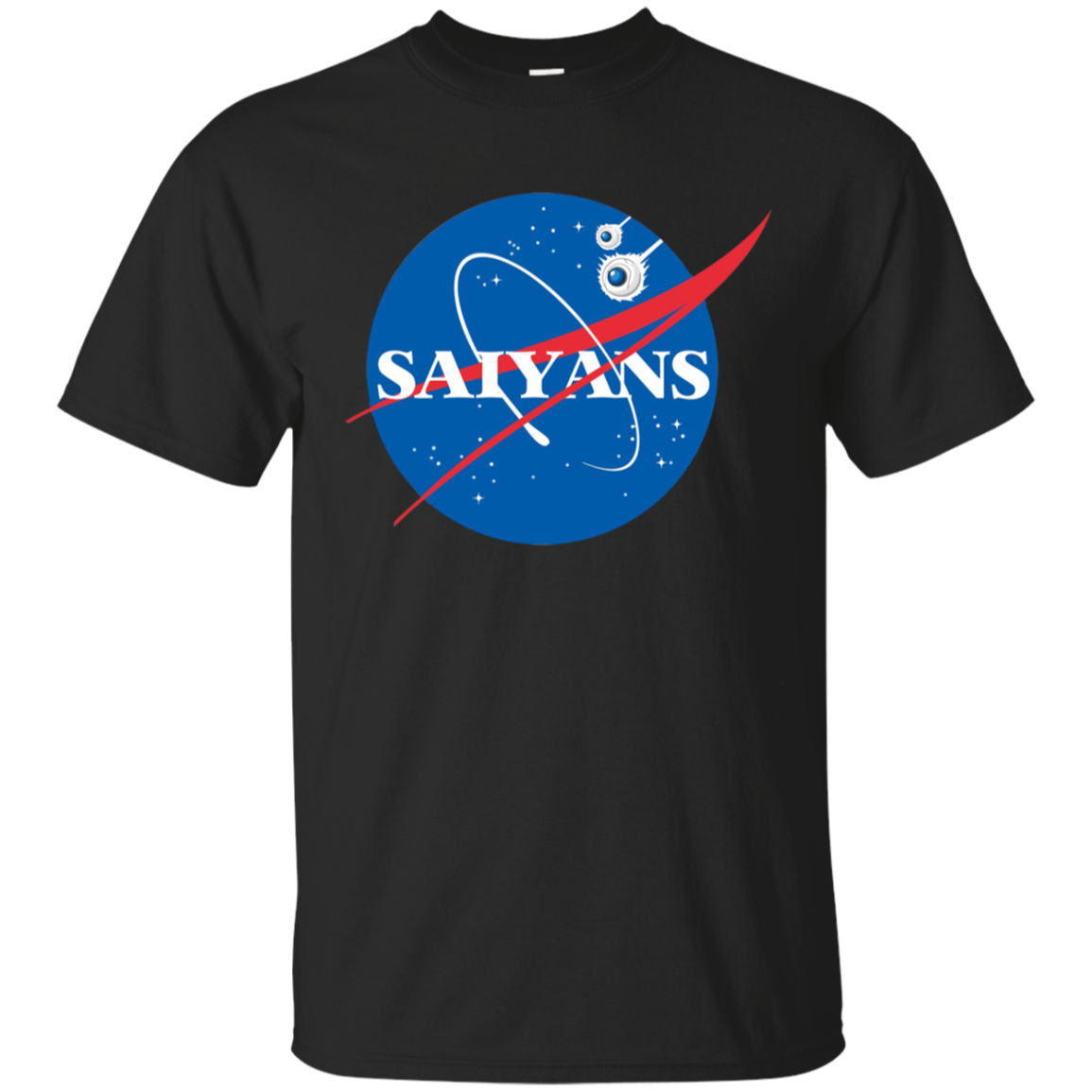 For the Benefit of Al NASA Dragon Ball Mashup T-shirt