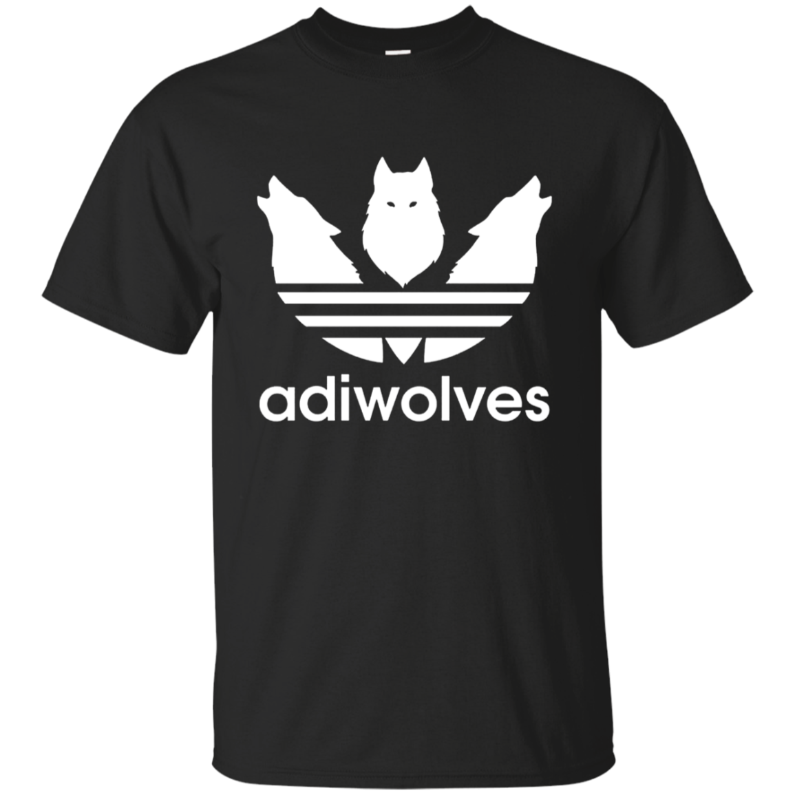 Funny wolf lovers Gift adiwolves T-shirt