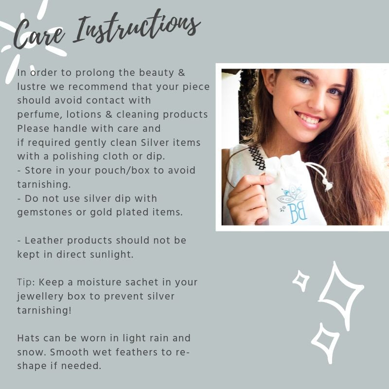 Jewellery Care Instructions
