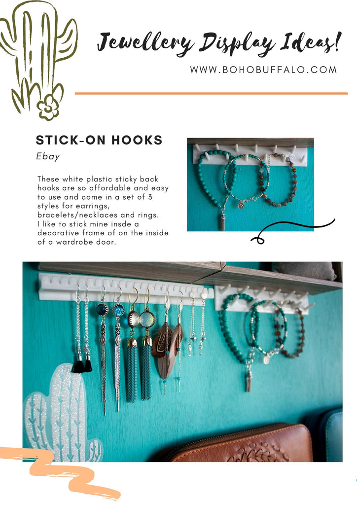 Affordable easy earring display ideas