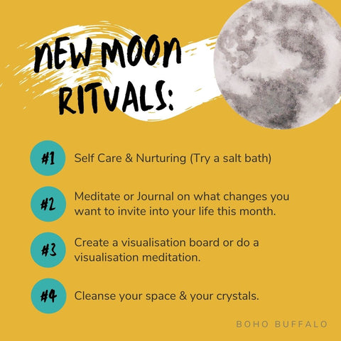 New Moon ritual for manifestation