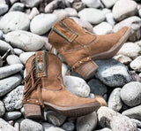 Western Ankle Boots UK - Boho Buffalo Accessories