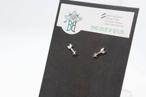 Silver Arrow Studs - Boho Buffalo Accessories
