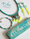 Neon Tribal Tassel Necklace - Boho Buffalo Accessories