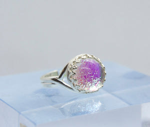 10mm Dichroic Glass Ring