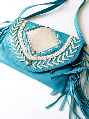 Turquoise Diamond Bag/Purse