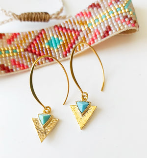 Native American Style Earrings