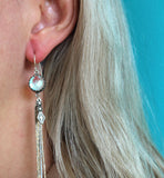 Native America Glass Tassel Earrings - Boho Buffalo Accessories
