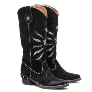 Black Western Star Boots - Boho Buffalo Accessories