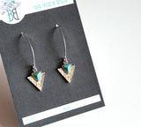 Aztec Charm Earrings - Boho Buffalo Accessories