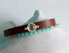 Twin Beaded Leather Bracelet - Boho Buffalo Accessories